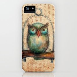 Wise Owl II iPhone Case