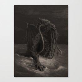Cthulhu Rises Canvas Print