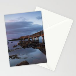 Pans Rocks Sunset Stationery Cards