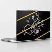 regular show Laptop & iPad Skins featuring Regular Murder Show by zombieCraig by zombieCraig