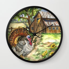 Country Life Wall Clock