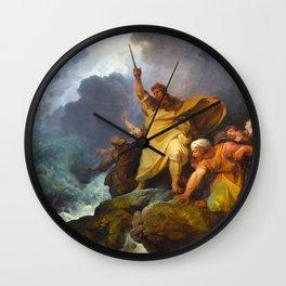 The Destruction of Pharaoh's Army (1792) Wall Clock