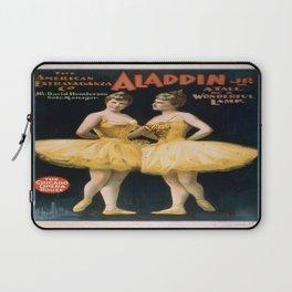 Vintage poster - Aladdin, Jr. Laptop Sleeve