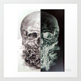 Positive/Negative Art Print