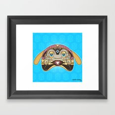 RUFUS (has a heart that shines like a diamond) Framed Art Print