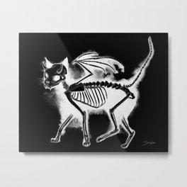 Devil Kitty - inverted Metal Print