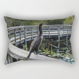 The Cormorant Rectangular Pillow