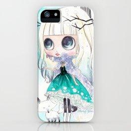 Tegan Fox - Blythe doll inspiration iPhone Case