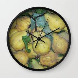 Quinces Wall Clock