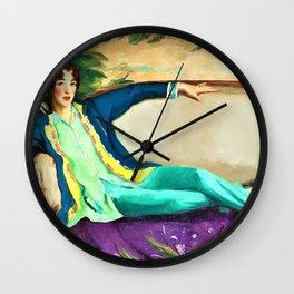 Gertrude Vanderbilt Whitney - Digital Remastered Edition Wall Clock