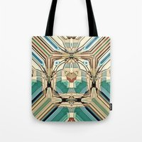 supreme Tote Bags featuring Supreme by Fringeman
