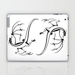 A simple flying dragon Laptop & iPad Skin
