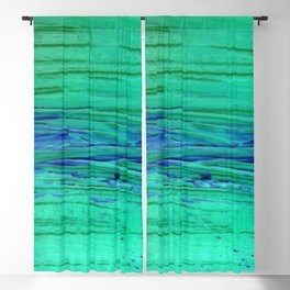 Blue Brane rivers Blackout Curtain