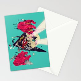 Hero Eater Stationery Cards
