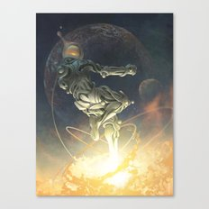 Cosmic Leap Canvas Print