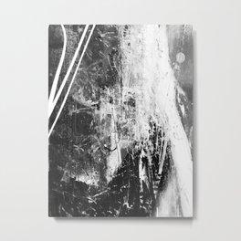 Black and White 01011 Metal Print