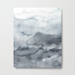 Grey Clouds Metal Print