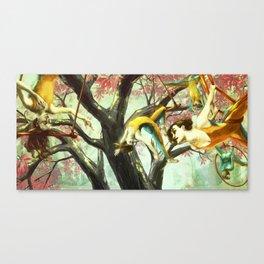 Trapeze Dream Canvas Print