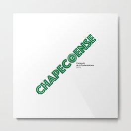 #ChapecoenseReal Metal Print
