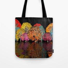 geometric horizon -11- Tote Bag