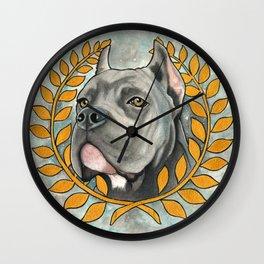 Cane Corso dog Wall Clock