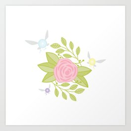 Garden of Fairies Art Print