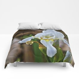 Graveyard Flower Comforters
