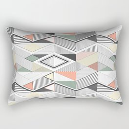 African vector Rectangular Pillow