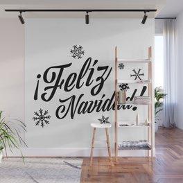 Feliz Navidad Wall Mural