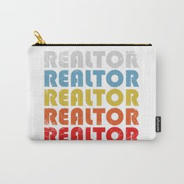 Realtor. Real estate agent gifts Carry-All Pouch