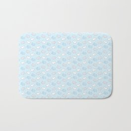 Baby Rhinos in a row Bath Mat