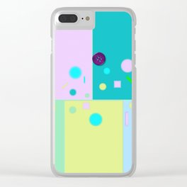 Play of colors Clear iPhone Case