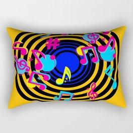 music love Rectangular Pillow