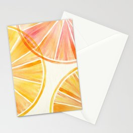 Sunny Citrus Stationery Cards