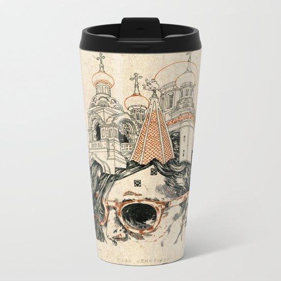 Head sanctuary Metal Travel Mug