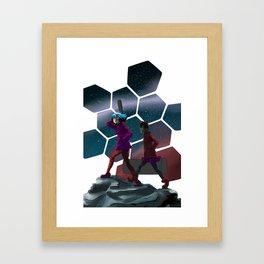 Artificial Nocturne   Framed Art Print