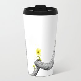 """Up Close You Are More Wrinkly Than I Remembered"" Travel Mug"