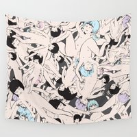 cosmos Wall Tapestries featuring Cosmos by Studio Anemone