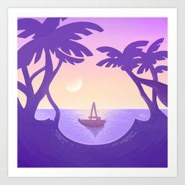Sirena Summer Art Print