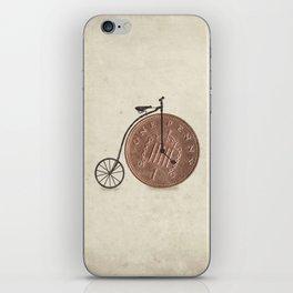 Penny Farthing iPhone Skin