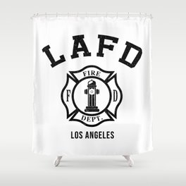 Firefighters LA Shower Curtain