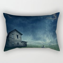 abandoned in the storm Rectangular Pillow
