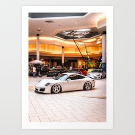 Atlantic Street Movement - Get Low 2020 Car Show in Daytona FL, Volusia Mall Art Print