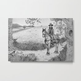 The Witchfinder General Metal Print