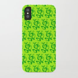 Green Monkey iPhone Case