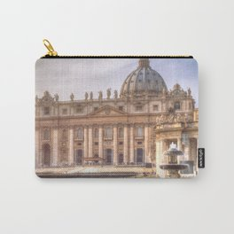 The Papal Basilica of the Saint Peter in the Vatican, Rome Carry-All Pouch
