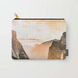 Yosemite Valley Burn - Sunrise Carry-All Pouch