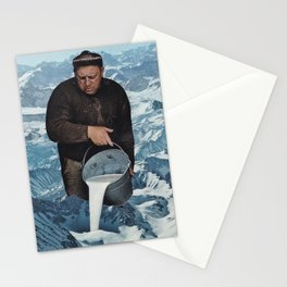 Milky Mountain Stationery Cards