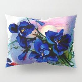 Violet Easter Egg Pillow Sham