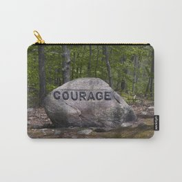 Courage Rock Babson Boulder #6 Carry-All Pouch